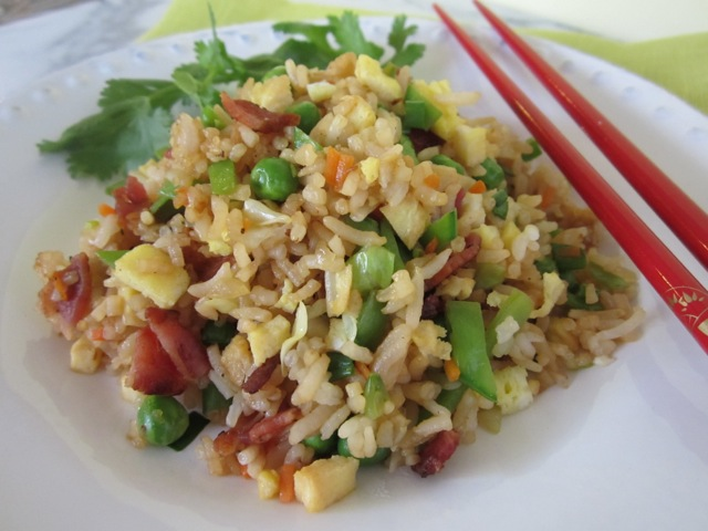 Fried Rice with Bacon |