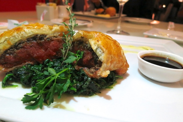 Beef Wellington at Stage