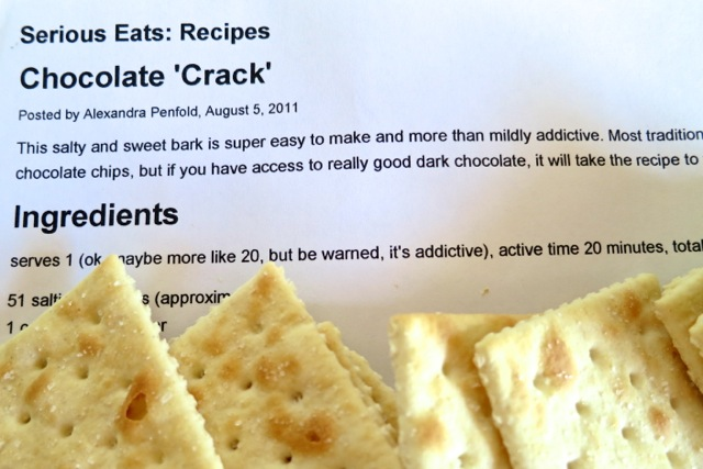 "Chocolate ""Crack"" Can Be Habit Forming 