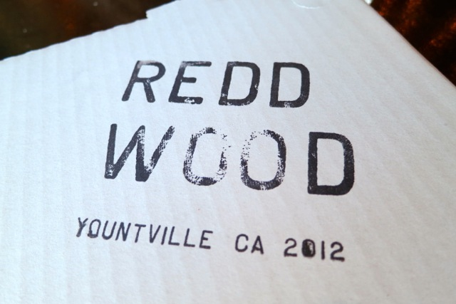 Redd Wood sign