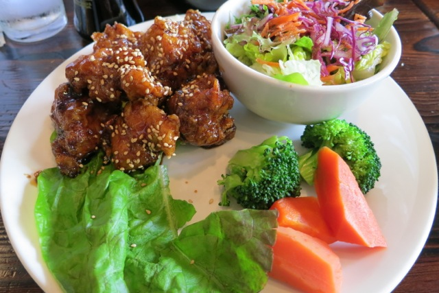 Sanraku sesame chicken