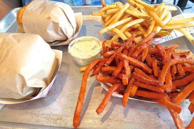 Gotts Fries and Sweet Potatoes