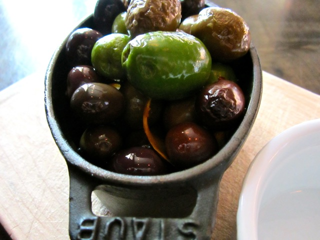 Redd Wood Marinated Warm Olives