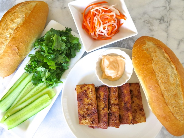 Banh Mi With Lemongrass Tofu Recipe — Dishmaps
