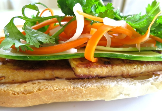 Lemongrass Tofu Banh Mi | My Lilikoi Kitchen