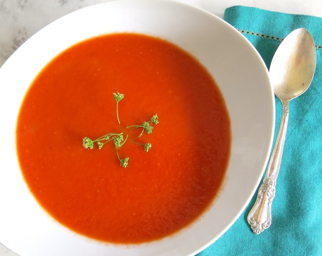 Summer Roasted Tomato Soup |