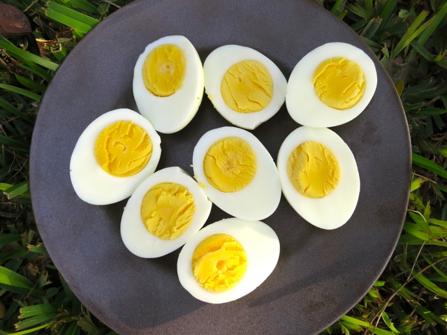 Hard Boiled Eggs for Potato Salad