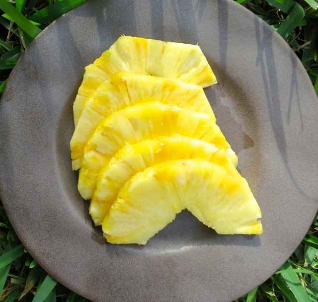 Sliced Maui Gold Pineapple