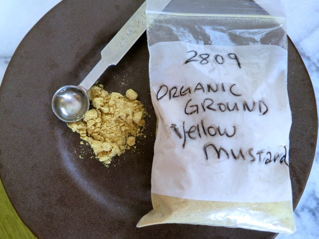 Organic Ground Yellow Mustard