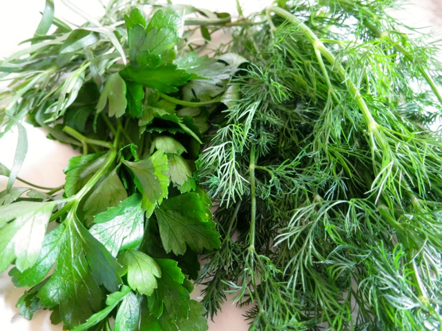 Tarragon, Parsley, Dill