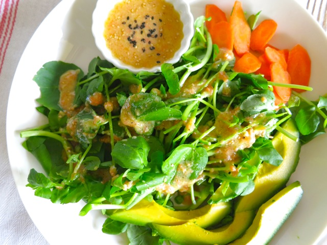 miso carrot sesame dressing sesame ginger miso dressing carrot soup ...