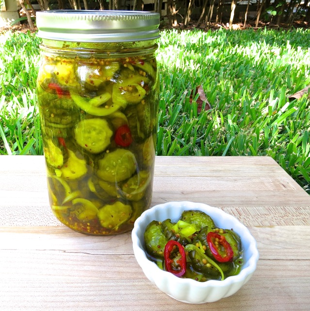 Crunchy Sweet & Tangy Bread & Butter Pickles