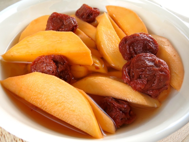 Pickled Mango with Li Hing Mui