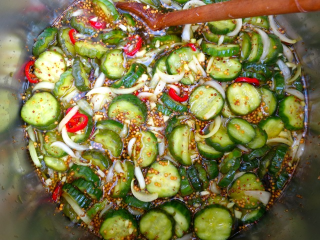 Preparing Pickles