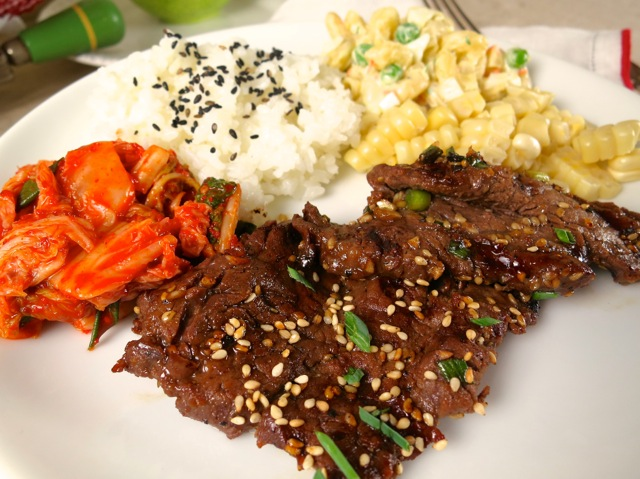 "Bulgogi ""Plate Lunch"""