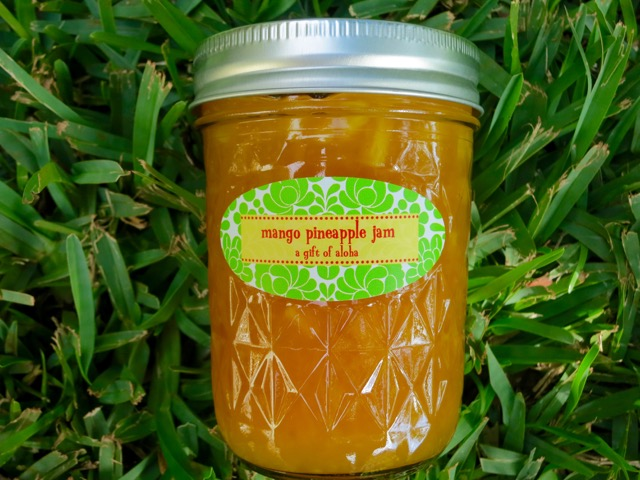 Pineapple mango jam