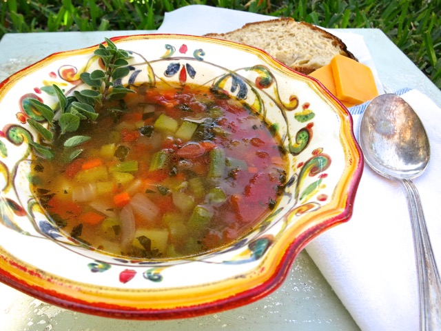 Hearty Tomato Herb Soup