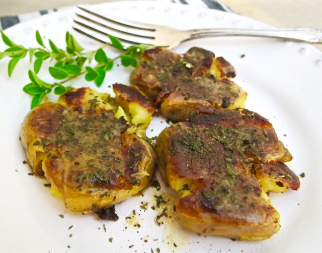 Crispy Potatoes with Lemon & Lots of Oregano