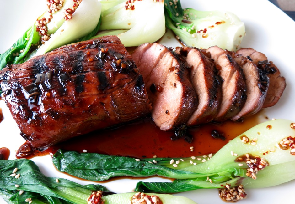 Grilled Teriyaki Pork Tenderloin