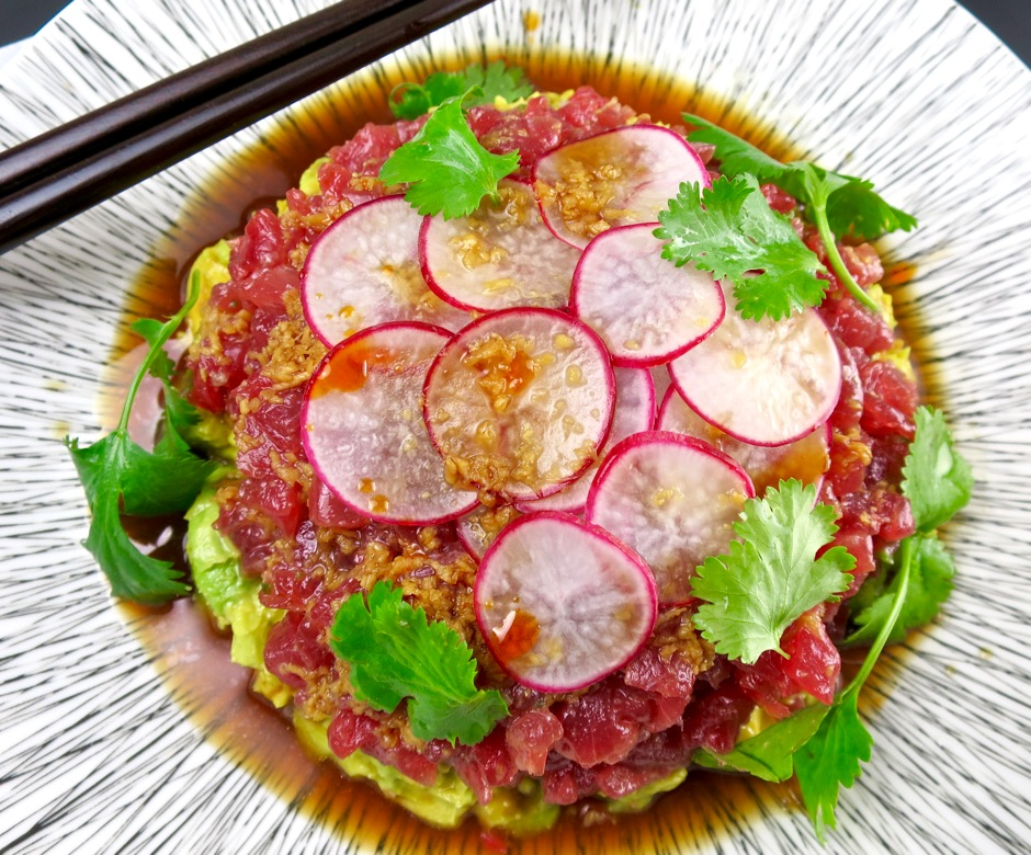 Tuna Tartare with Avocado & Radish