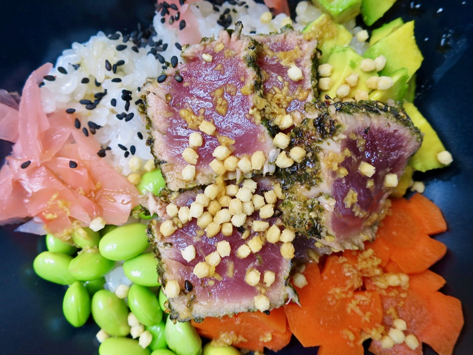 Seared Ahi Rice Bowl