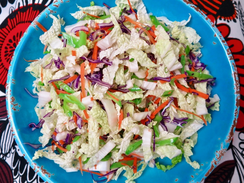 Chinese Chicken Salad Vegetables