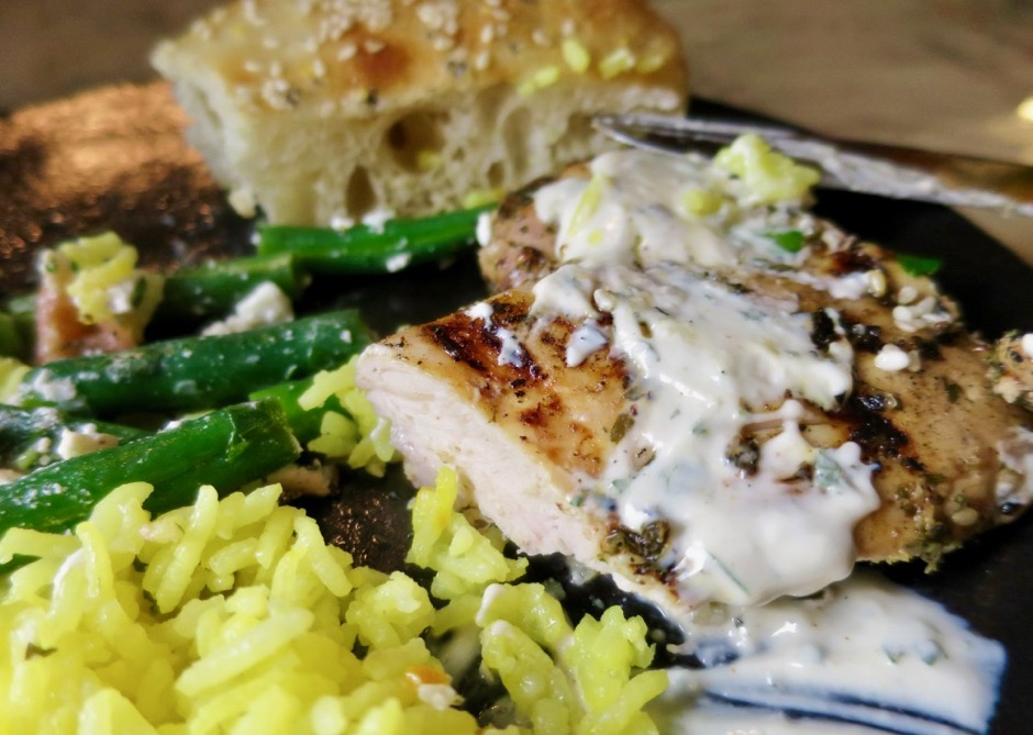 Middle Eastern Herb & Garlic Chicken