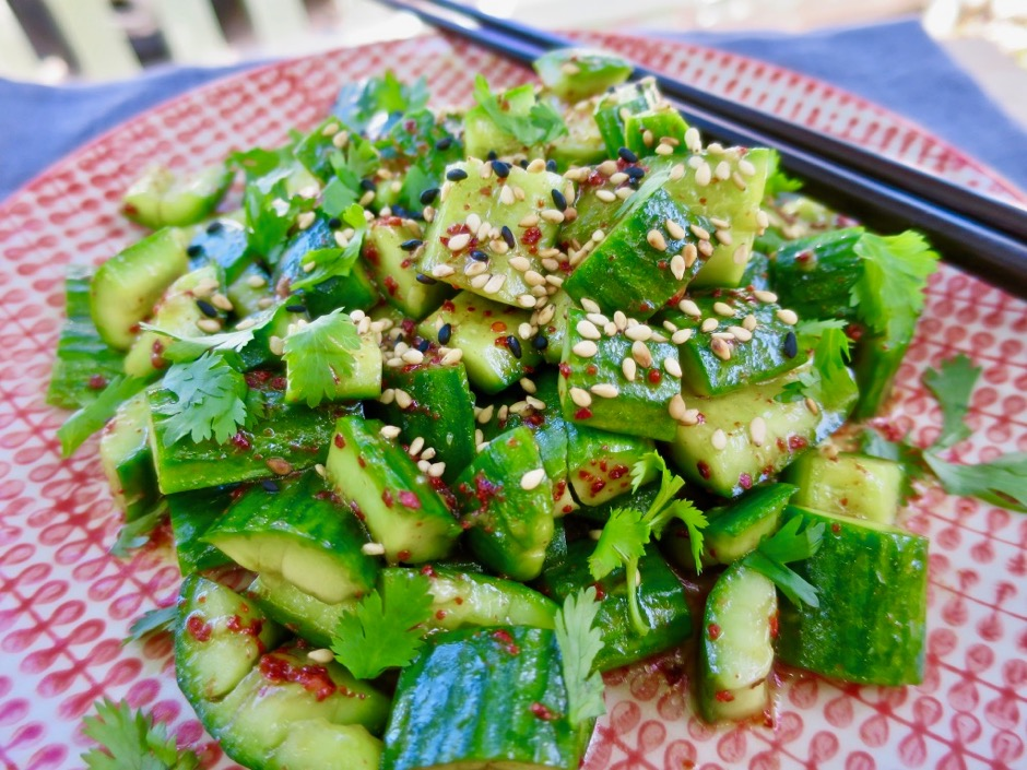 Chinese Smashed Cucumbers