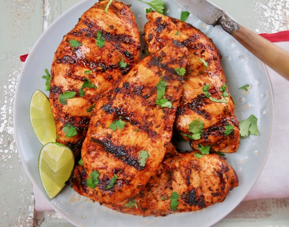 Mexican Style Grilled Chicken